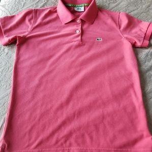 Boys Lacoste polo shirt